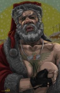 tweaked santa
