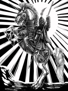 Unicorn battle Squad shirt 2