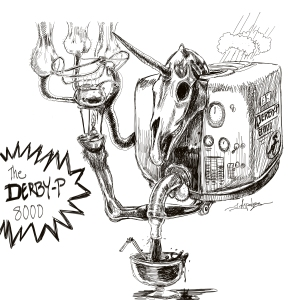 unicorn piss machine sketch